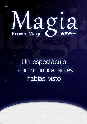 espectaculo de magia power Magic