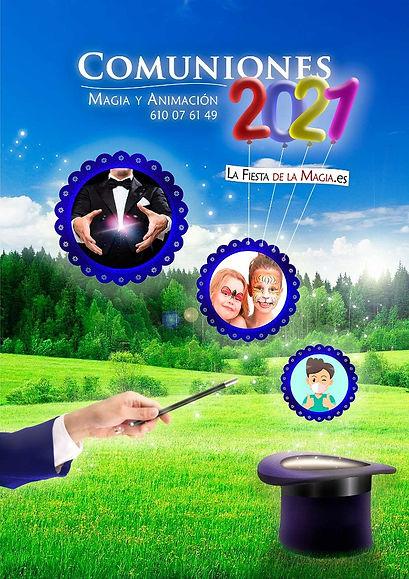 Magia para comunión 2021
