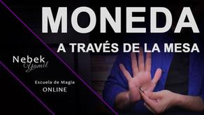 MONEDA A TRAVÉS DE LA MESA