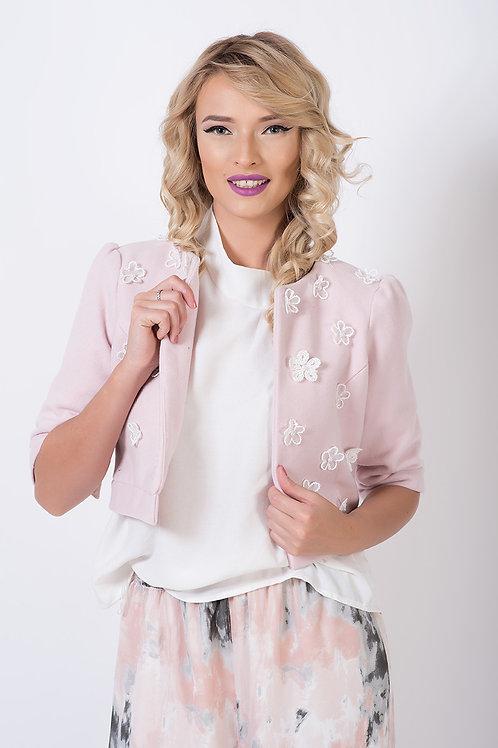 Pink Cherry Short Jacket