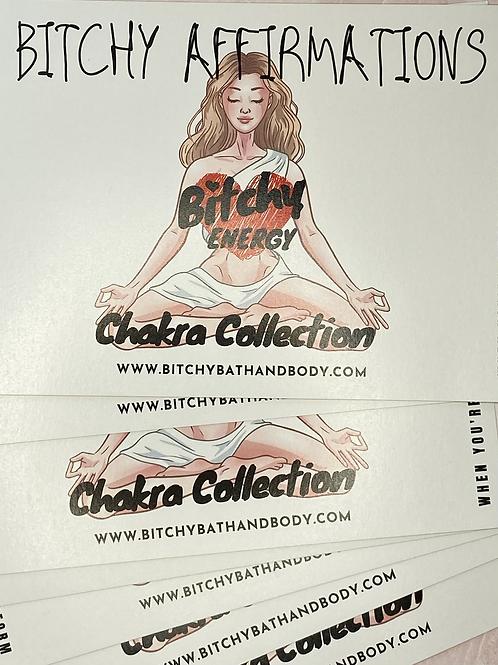 Bitchy Affirmations 5x7 Card Set™