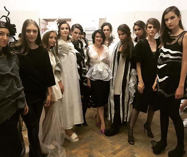me and my models gala unarte.jpg