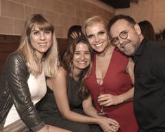Evelyn Ruhl, Fernanda Geyer e Debora Tessler