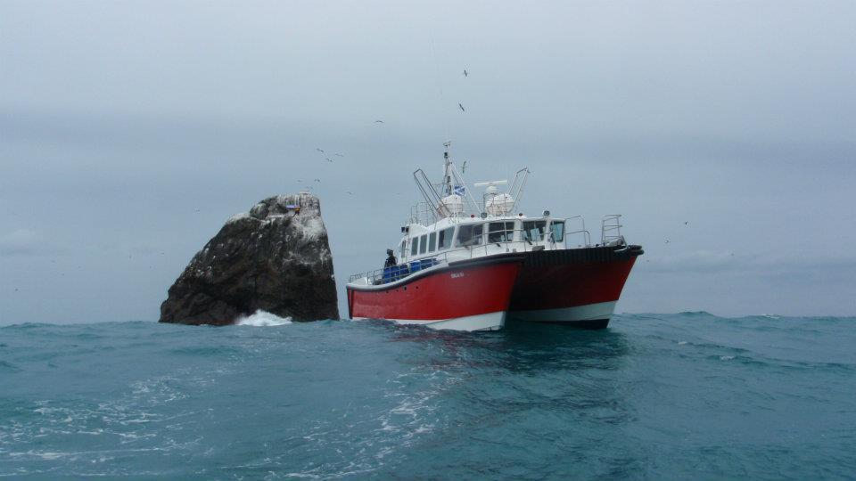 Orca III at Rockall