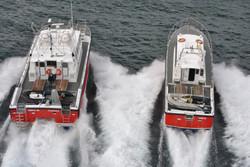 Orca III and Hirta - Rear