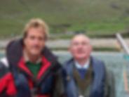 Ben Fogle and Norman John Gillies
