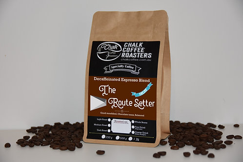 The Route Setter Decaf Espresso