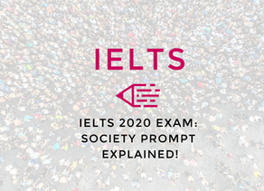 Video: IELTS 2020 Exam   Society Prompt Explained!