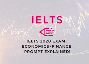 Video: IELTS 2020 Exam   Economics/Finance Prompt Explained!