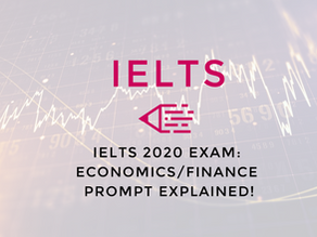 Video: IELTS 2020 Exam | Economics/Finance Prompt Explained!