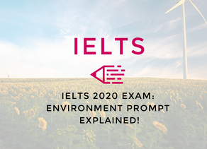 Video: IELTS 2020 Exam   Environment Prompt Explained!