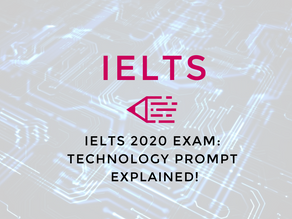 Video: IELTS 2020 Exam | Technology Prompt Explained!