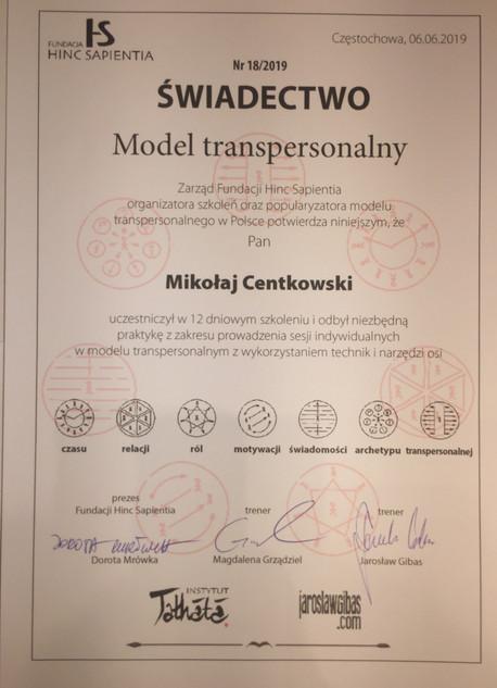 Terapeuta Transpersonalny