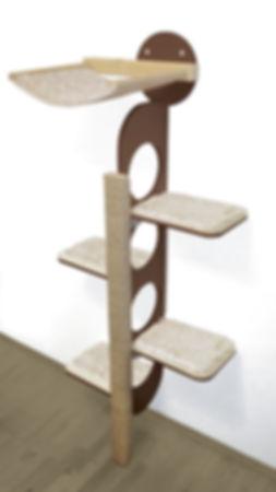 Design Kratzbaum in Braun
