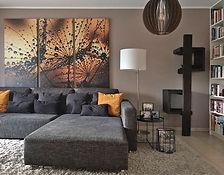 Kratzbaum im Raum