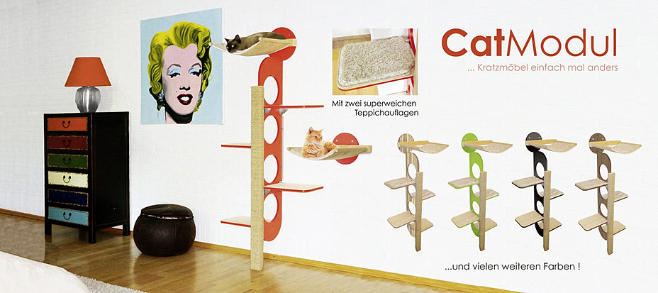 catmodul kratzb ume design kratzm bel f r katzen. Black Bedroom Furniture Sets. Home Design Ideas