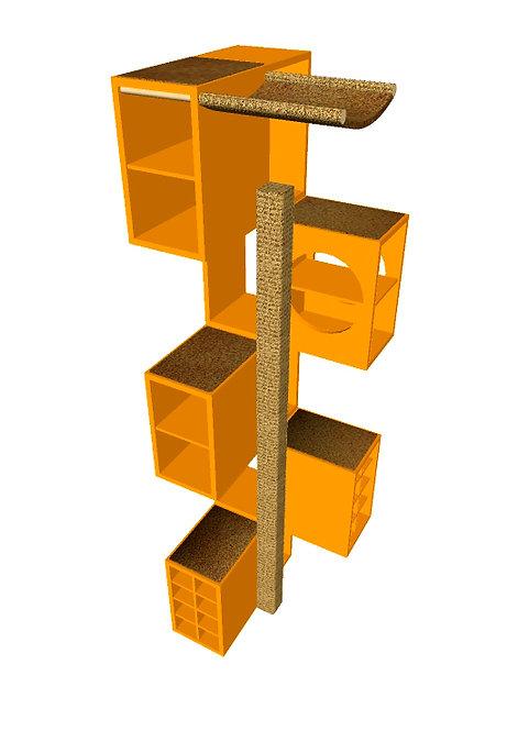CatModul 5 Classic Mandarine / Braun