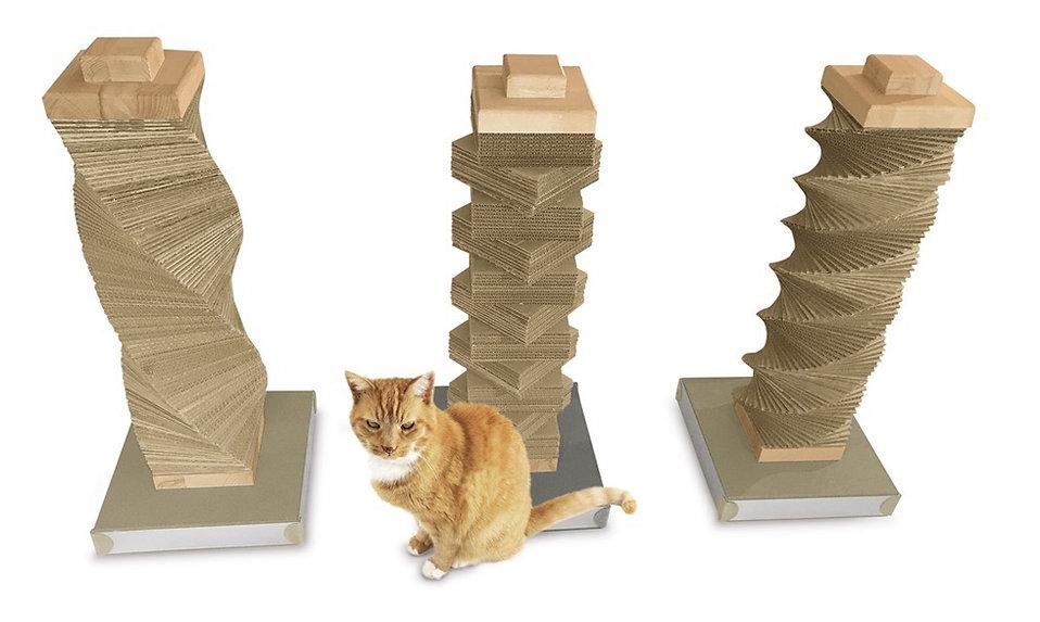 Kratzsäulen für katzen