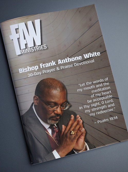 Bishop Frank A. White - 30 Day Prayer Journal