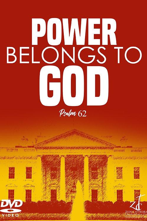 FAW-POWER BELONGS TO GOD | Psalm 62