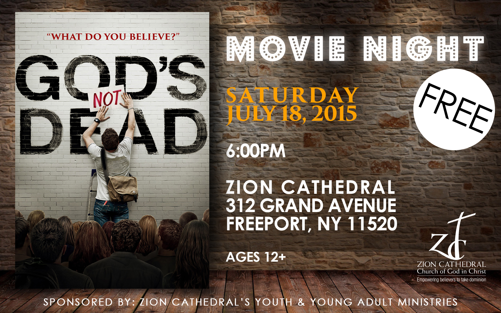 ZC YOUTH MOVIE NIGHT 1