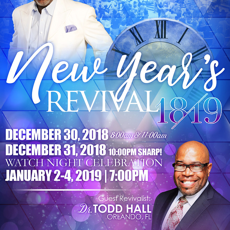 NEW YEAR'S REVIVAL 2018-2019