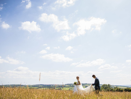 A Beautiful Country Barn Wedding