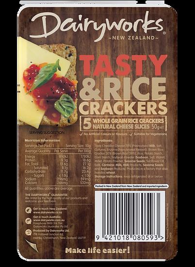 Dairyworks Tasty Cheese Crackers 50g