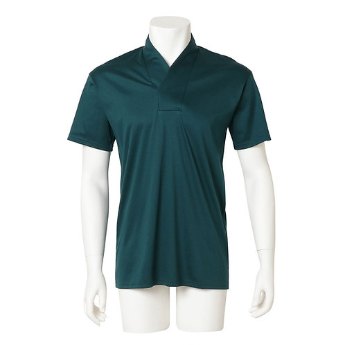 Men's半衿Tシャツ  『緑』