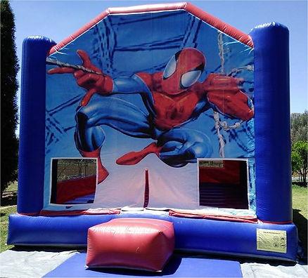 Superhero Spiderman Jumping Castle