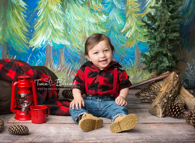 Smithville, Bastrop & Austin area photographer | One Year Birthday Baby Session