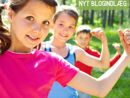 Barnets naturlige udvikling mod et robust selvværd