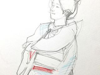 「舞妓さんを描く会 第2回」