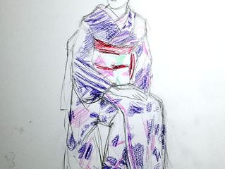 「舞妓さんを描く会 第4回」