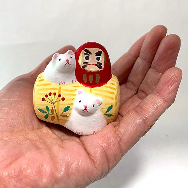 「米俵の子とダルマ」2,420円