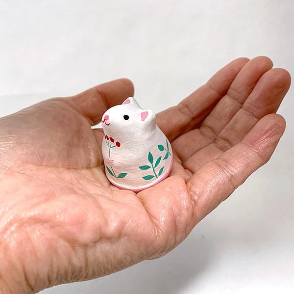 「花抱きネズミ」1,650円