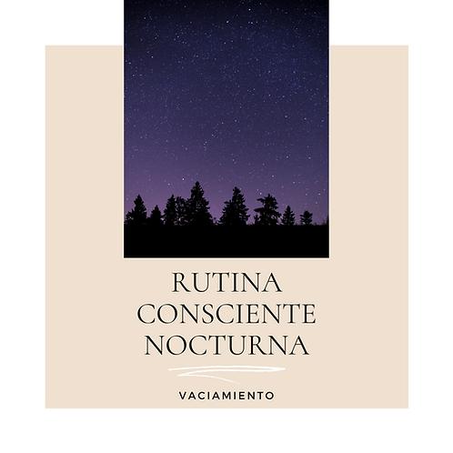 Rutina Consciente nocturna 3