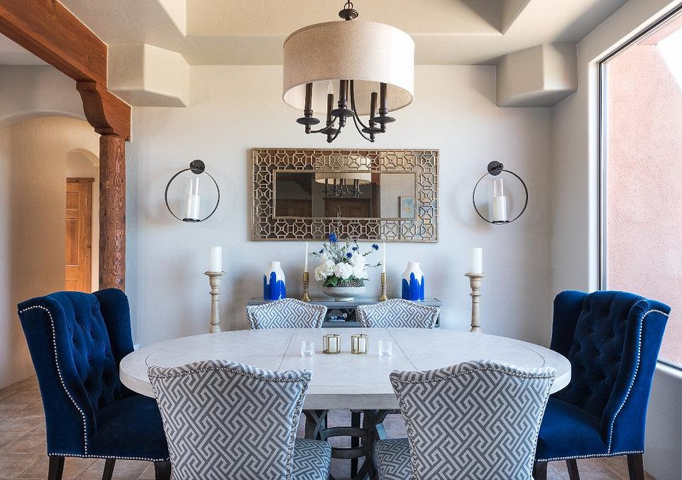 Saddlehorn Dining Room_DesignsByPriya