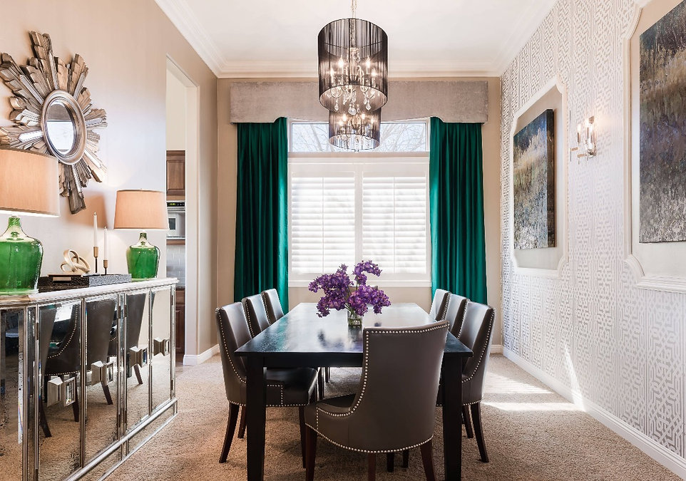 Oro Valley Dining Room_DesignsByPriya