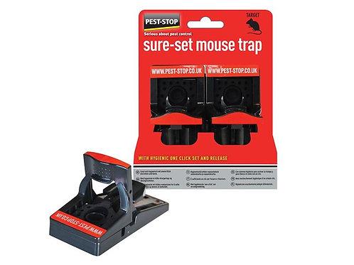 Pest Stop Sure-Set Plastic Mouse Trap