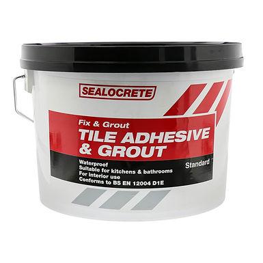 Bostik Sealocrete Fix and Grout Tile Adhesive Standard