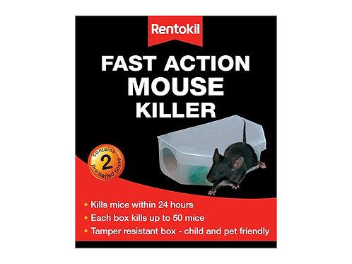 Rentokil Fast Action Mouse Killer Twin Pk
