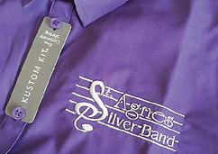 St Agnes Silver Band Embroidered Uniform Polo Shirt