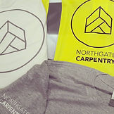 Printed garments for Northgate Carpentry