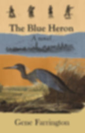 The Blue Heron by Gene Farrington