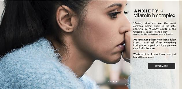 ANXIETY & VITAMIN B COMPLEX | Plus Size Blog | NY | NYXL Beauty