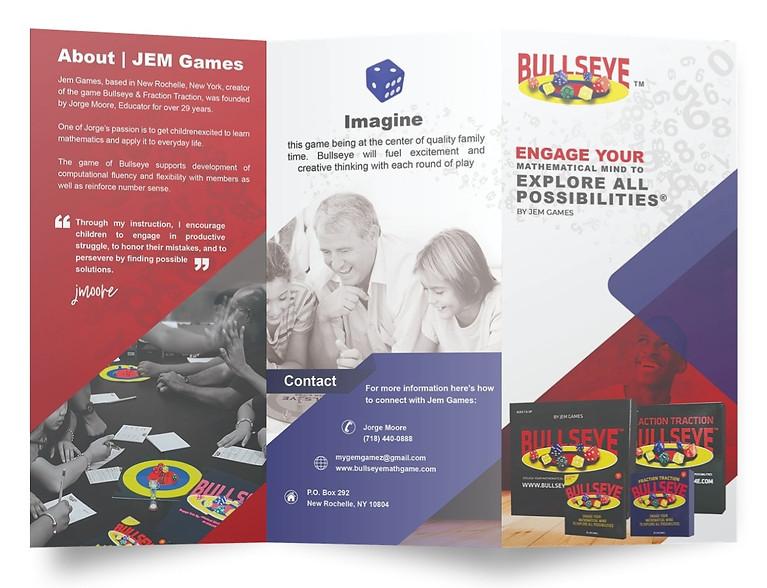 Tri-Fold Brochure Design & Print