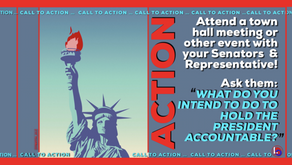 Attend a Town Hall Meeting & Demand Accountability