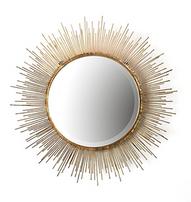 Two's Company Tozai Gold Starburst Wall Mirror