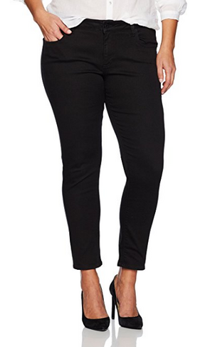 Lucky Brand Women's Plus Size Ginger Skinny Jean in Bell